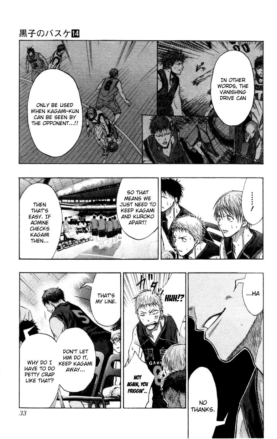 Kuroko no Basket Manga Chapter 119 - Image 4_033