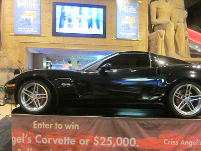corvette luxor contest money casino stock photo