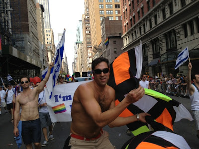 Marching with Israel in NYC's Gay Pride Parade 2012