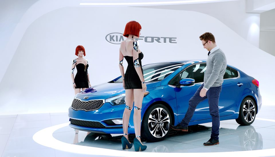 "Respect The Tech ""HotBots"" 2014 Kia Forte Ad"