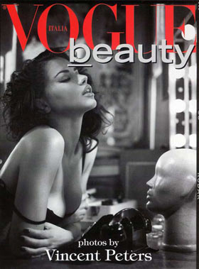 Adriana Lima in Vogue Italia