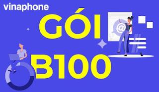 Miễn phí 250 phút thoại, 250 tin nhắn, 1.2 GB Data Gói B100 Vinaphone