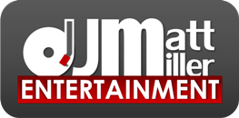 DJ Matt Miller Entertainment, LLC. Logo