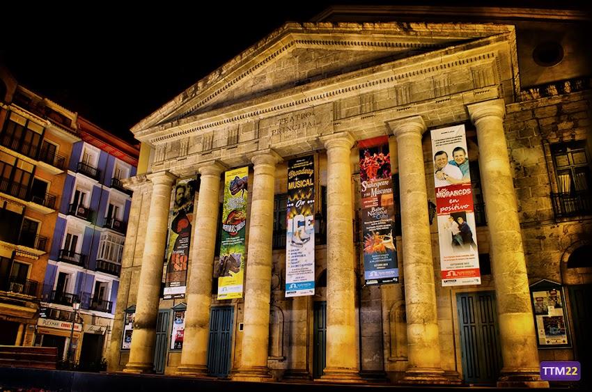 Nikon D5100, 18-55 mm, Edificios y Monumentos, HDR, Nocturnas, Alicante, Teatro Principal