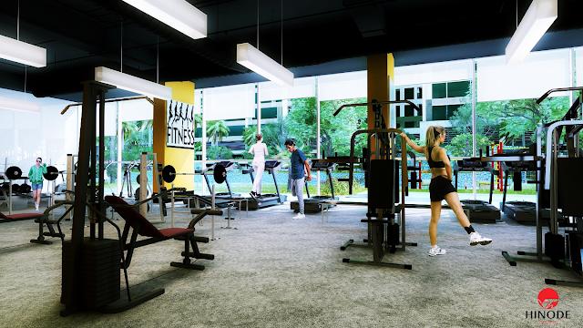 Phòng tập Gym dự án 201 Minh Khai