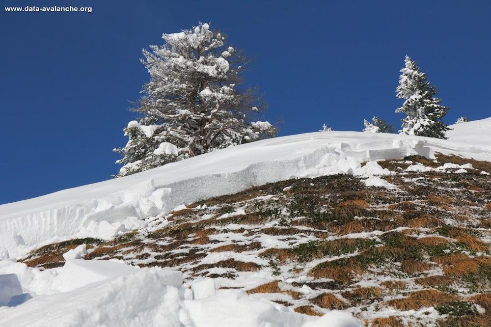 Avalanche Vanoise, secteur Rateau d'Aussois, Les Côtes - Photo 1