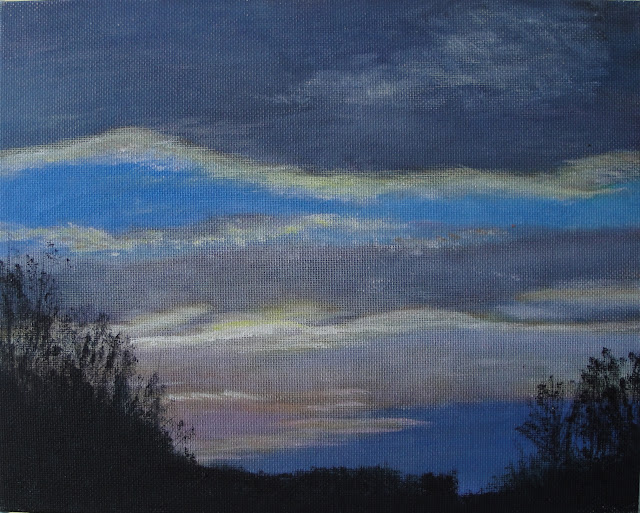 Twilight Sky 6 - Original Painting