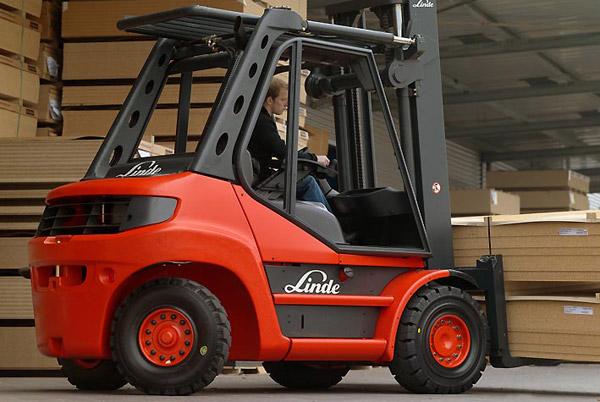 Xe nâng Linde H40 - H50