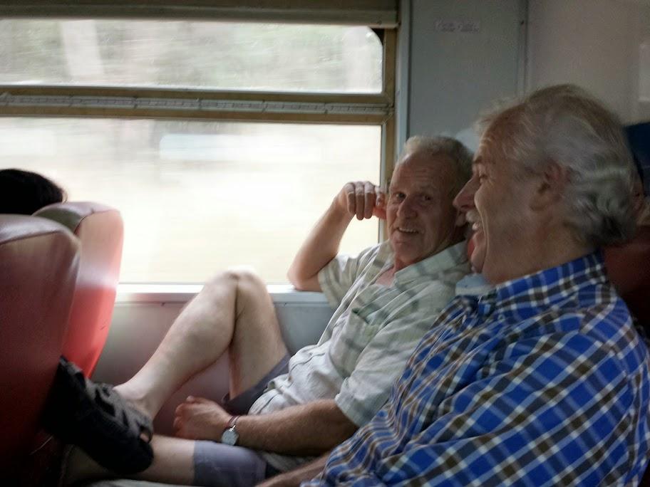 De trein naar Buriram