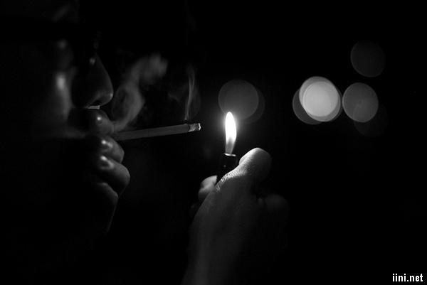 ảnh tâm trạng cô đơn trong đêm