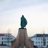 Leif Ericsson ved Hallgrimskirkja