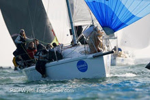 J/97 JIKA JIKA sailed by Holmes family winning