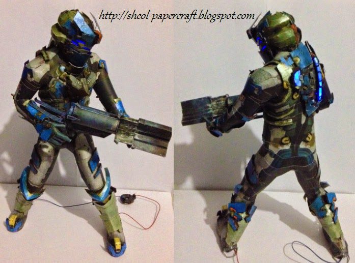 Dead Space 2 Advanced Suit Papercraft