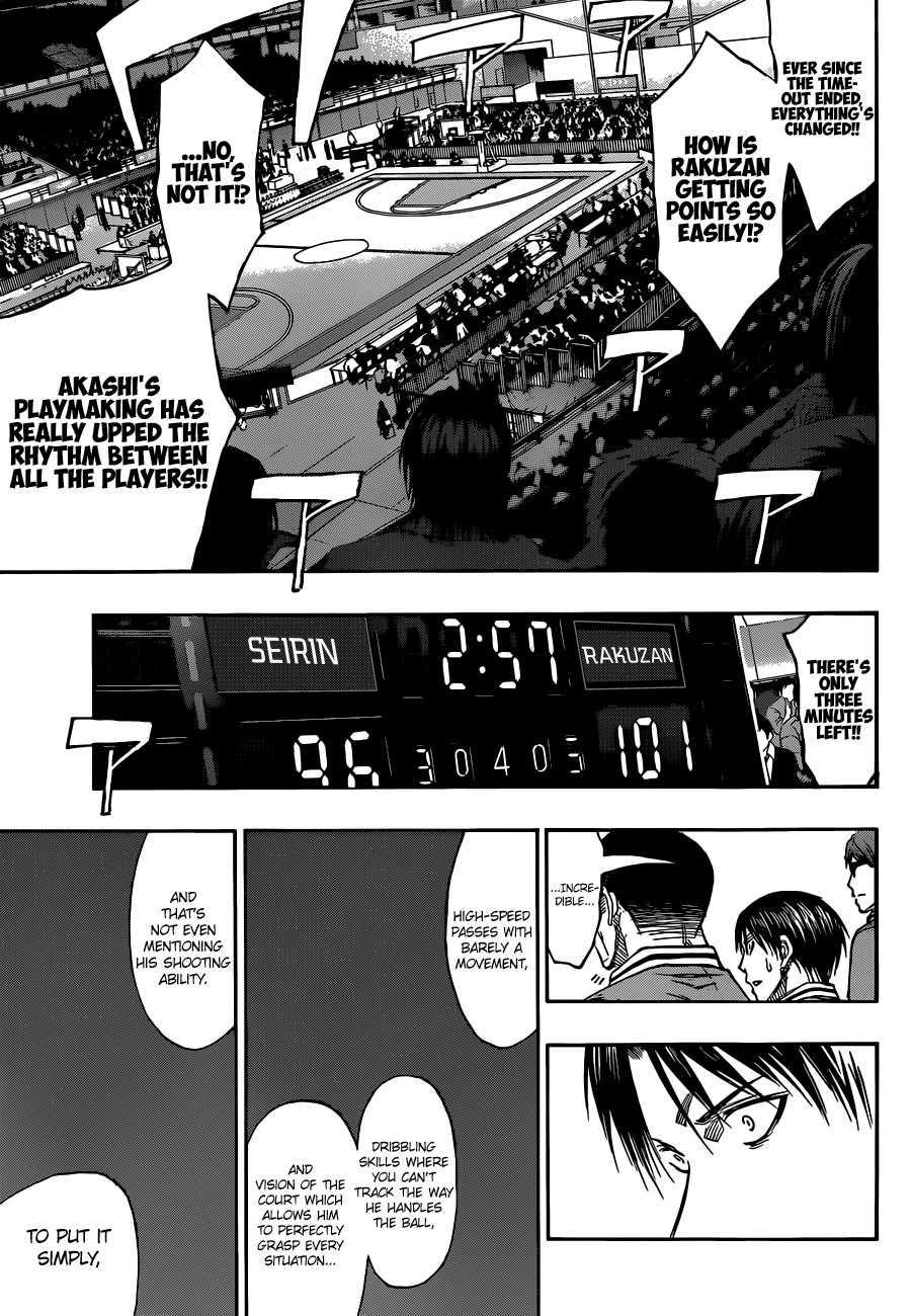 Kuroko no Basket Manga Chapter 267 - Image 15