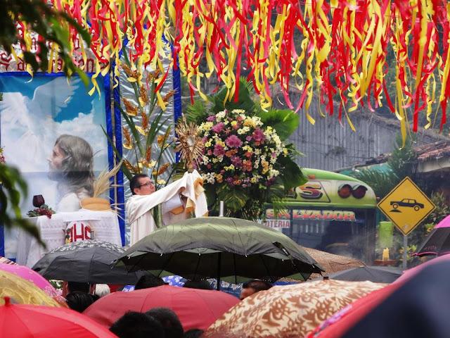 Decoracion Altares Cristianos ~ Fiesta de la Cosecha y Marcha por la Paz