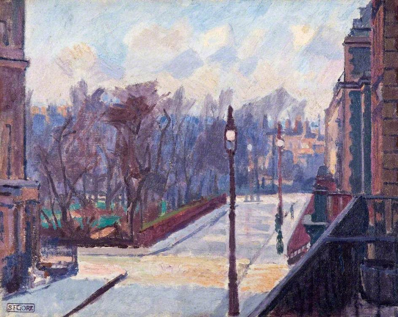 Spencer Gore - Harrington Square from No.2 Houghton Place