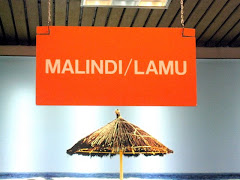 Malindi flight sign in Nairobi Airport in Kenya