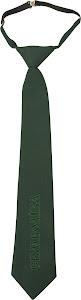Галстук загальновійськовий зелений