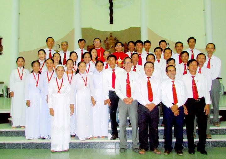Bổn mạng Gia Đình Phạt Tạ Thánh Tâm Chúa Giêsu tại Giáo xứ Vĩnh An