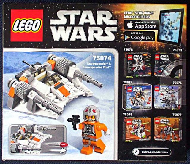 Lego Star Wars 75074 Tàu Trượt Tuyết Snowspeeder chất liệu nhựa cao cấp an toàn