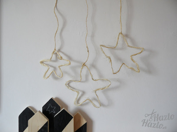Estrellas de alambre