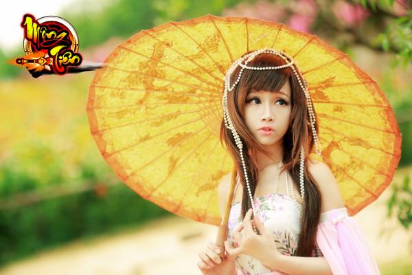 Chibi Bunny tung cosplay Mộng Tiên tuyệt đẹp 10