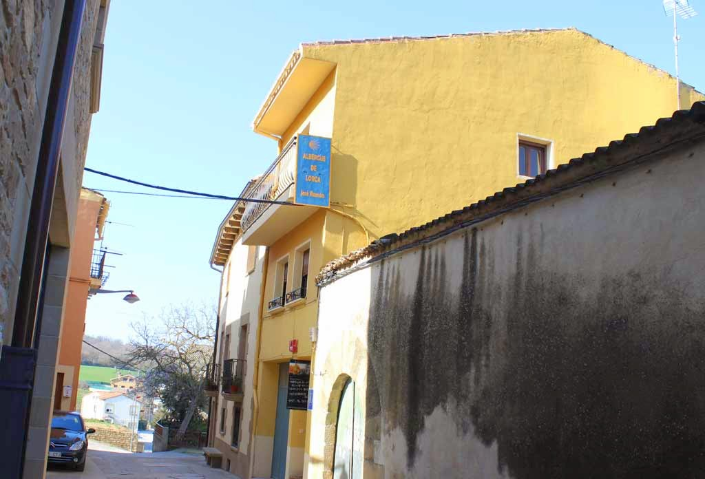 Albergue de peregrinos José Ramón, Lorca, Navarra :: Albergues del Camino de Santiago