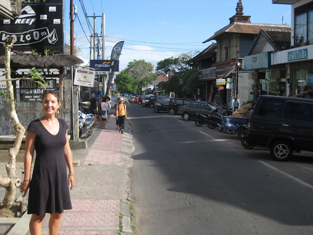 Monkey Forest Road - Downtown Ubud