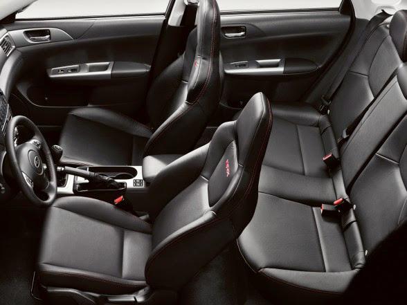 2013 Subaru Impreza WRX STI - Seating