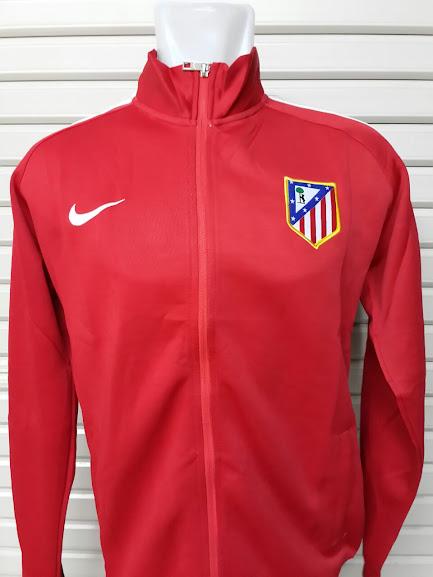 Jaket Atletico Madrid Merah 2014-2015