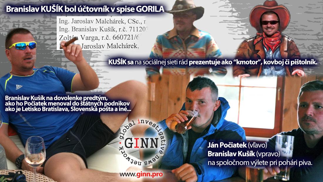 Branislav Kušík, Zoltan Varga, Ján Počiatek