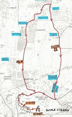 UWI 7K Road Race 10 November 2013