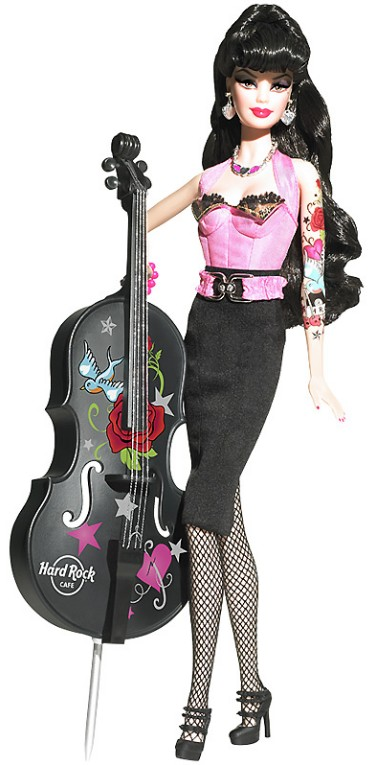 Rock-star Barbie