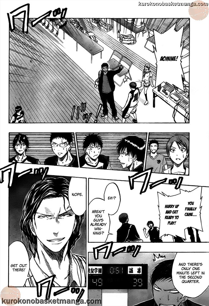 Kuroko no Basket Manga Chapter 45 - Image 20