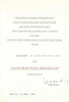 295 Kurt Barthel Oorkonden