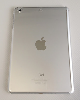 iPad mini用シェルケース「BSIPD712CHCR」をiPadminiに装着したところ