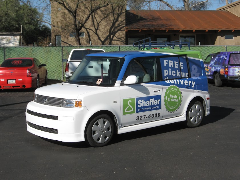 Shaffer vehicle wrap in tucson