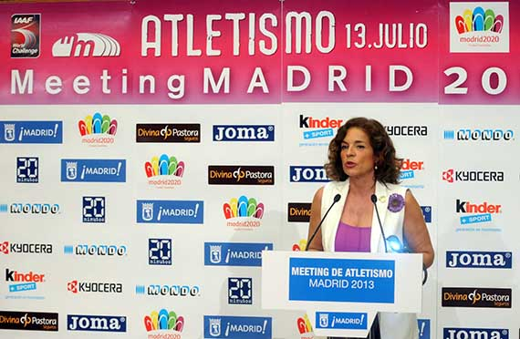 Meeting de Atletismo de Madrid, el sábado 13 de julio