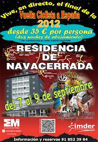 Asiste en directo a las últimas etapas de la Vuelta 2012
