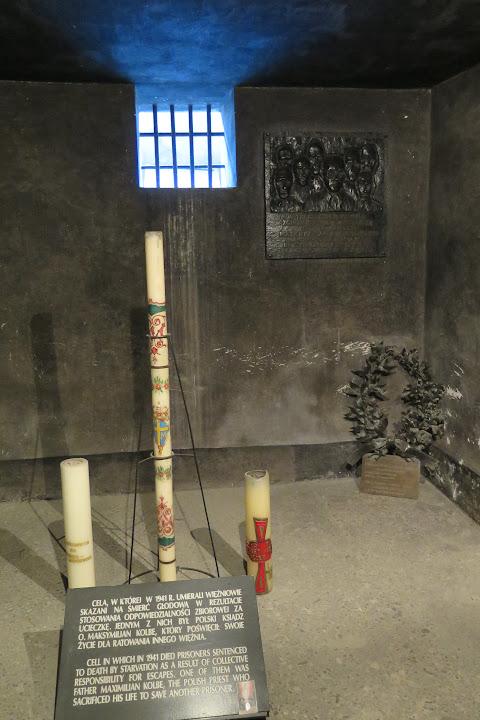 Todeszelle von Maximilian Kolbe