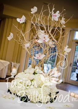 Manzanita Tree Wedding Decorations