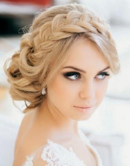Peinados para boda civil en cabello corto
