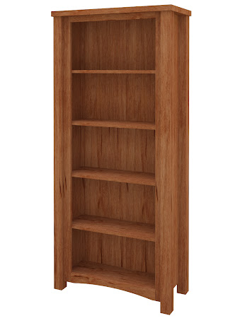 Dakota Standard Bookshelf in Vermont Maple