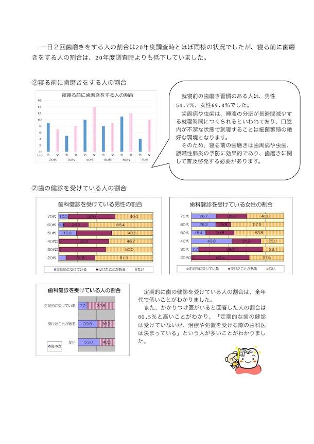 平成26年度北竜町健康意識調査報告書_10