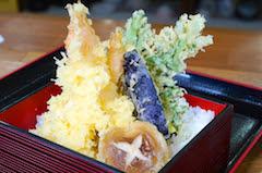 天丼(味噌汁、漬物付)