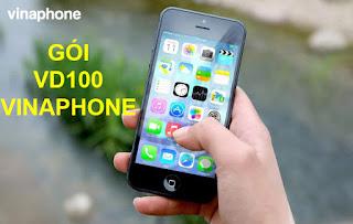 Gói VD100 Vinaphone, Miễn phí 21Gb data, Gọi không tốn tiền cả tháng