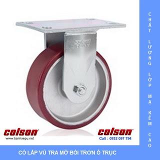 Bánh xe đẩy công nghiệp chịu tải trọng nặng (540~680kg) | www.banhxepu.net