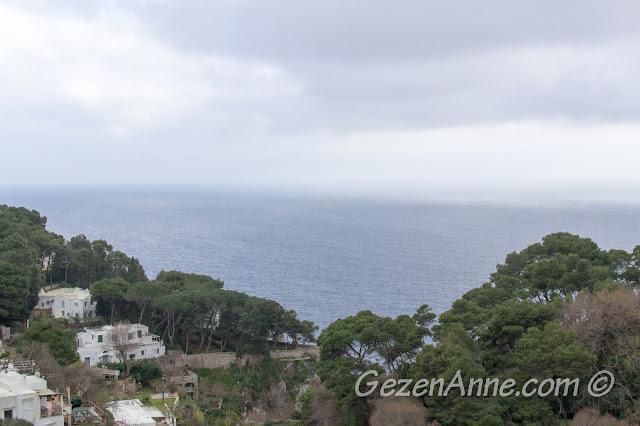 otel odamızdan manzara, La Floridiana Capri