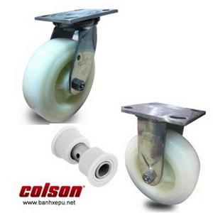 Bánh xe đẩy càng inox bánh xe Nylon chịu tải trọng (295~450kg)