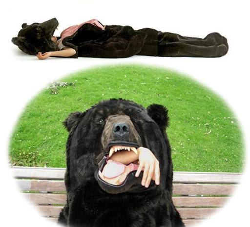 boz ayı uyku tulumu